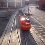 M&M Railroad trackless train