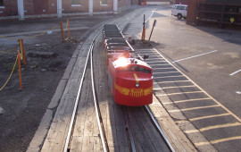 M&M Railroad trackless train rentals
